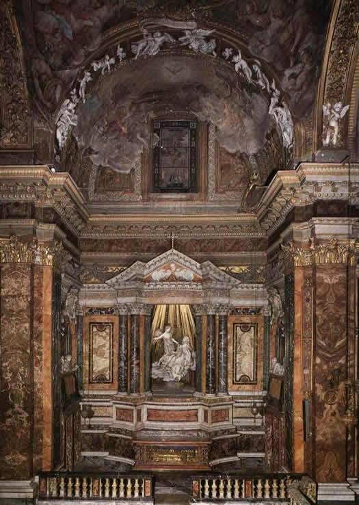 Капелла Корнаро в Церкови Санта Мария делла Виттория