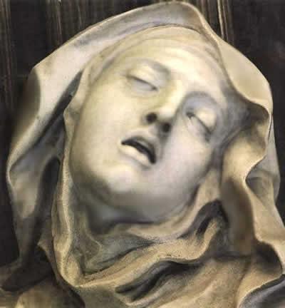 Святая Тереза - увеличено