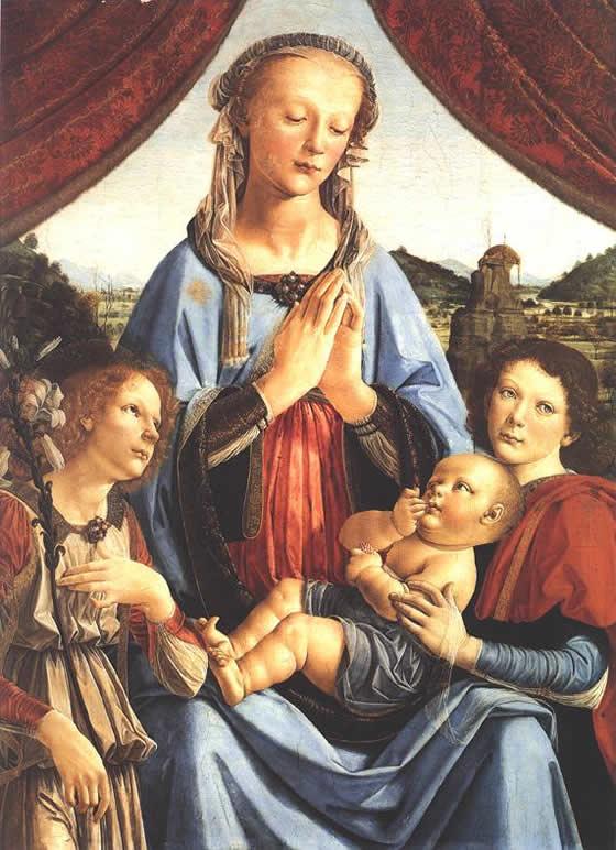 И ребенок с ангелом леонардо да винчи