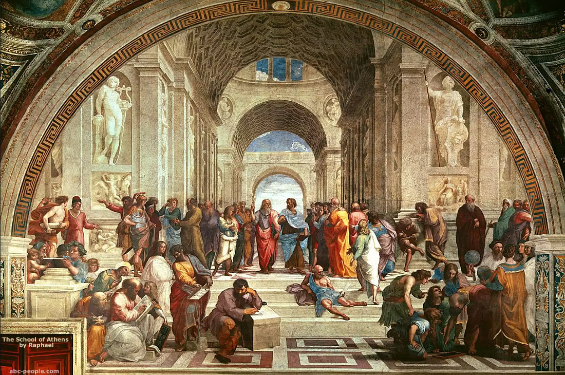 Fresco School of Athens