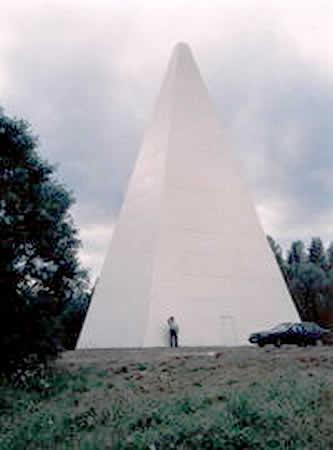 Указанные пирамиды предназначены для нужд санатория.  Разработан типовой проект пирамиды, который приобрели семь...