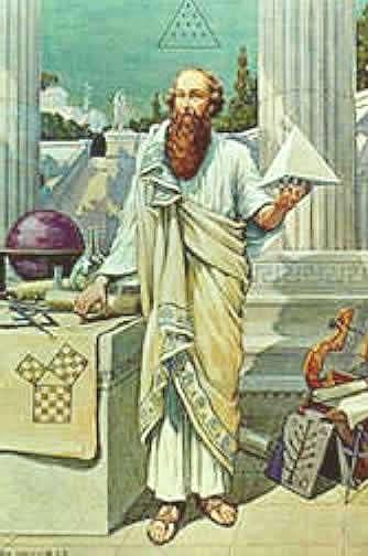 Удивление вызывал и бесстрастный лик Пифагора: лицо его являло всегда одно и то же расположение духа.