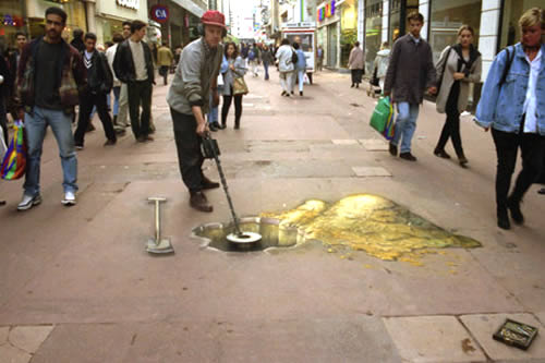 Copyright julian beever