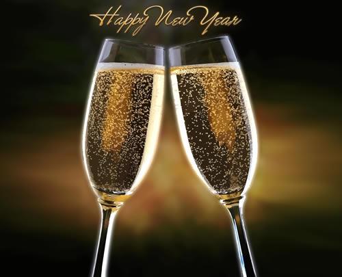 Живые картинки поздравления с новым 2015 годом