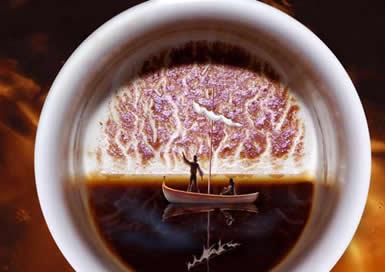 Гадание кофейная гуща цифра 5