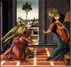 Ты обрела благодать у Господа; и вот, зачнешь во чреве, и родишь Сына, и наречешь Ему имя: Иисус