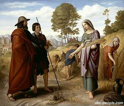 Руфь является и праматерью Сына Давидова, Иисуса, в родословной которого, среди немногих женщин, значится и её имя (Мф.1:5)