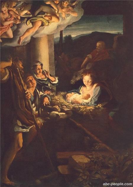 Рождество Христово. Поклонение пастухов