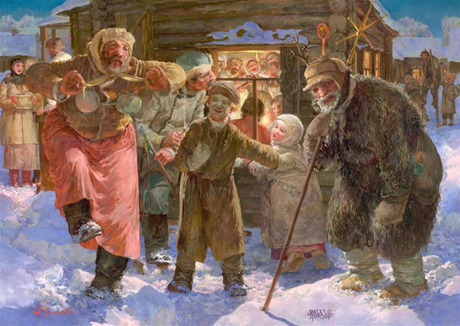Рождество Христово. Коляда