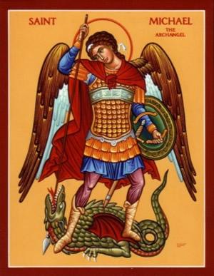 Архангел Михаил. Икона