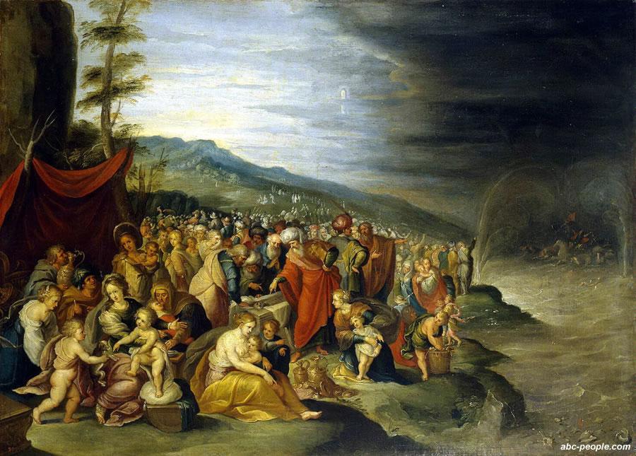 для исход евреев из детей картинки египта