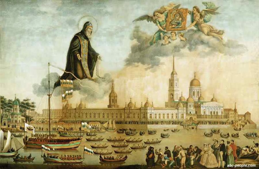 Преподобный Нил Столобенской