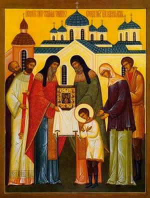 Исцеление преподобного Серафима Саровского