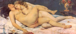 Gustave Courbet- Le Sommeil (Sleep)