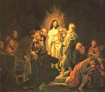 """""""Неверие Фомы""""Харменс ван Рейн Рембрандт. 1634"""