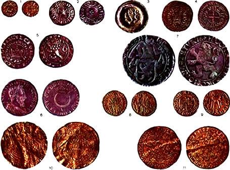 каталог средневековых монет европы